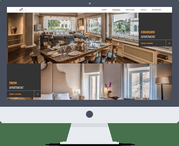 creazione siti web, siti web per appartamenti, booking online, siti web per hotel, intranet e gestionali