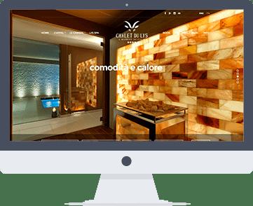 Siti Web per hotel, siti wbe per b&b, siti web per chalet, web developer